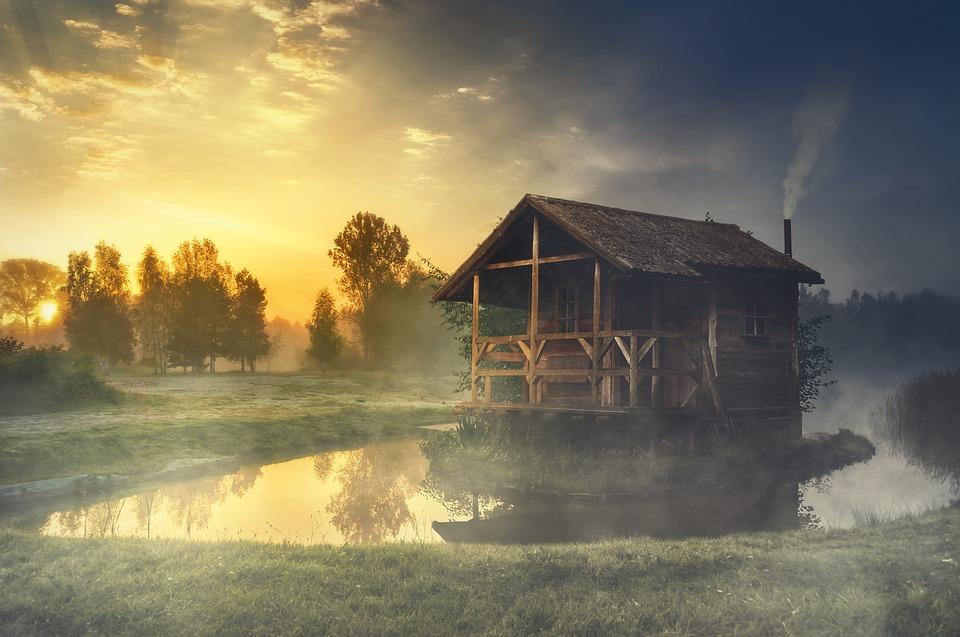 Domek na jezeře