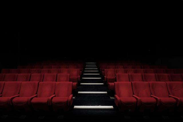 hlediště kinosálu
