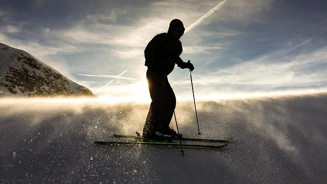 adrenalinové lyžování
