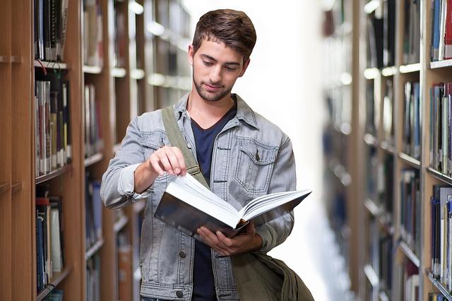 student a knihovna