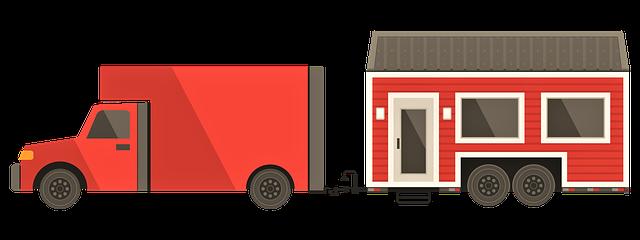 Přeprava mobilního domu