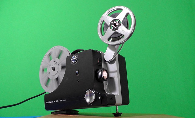 projektor filmů