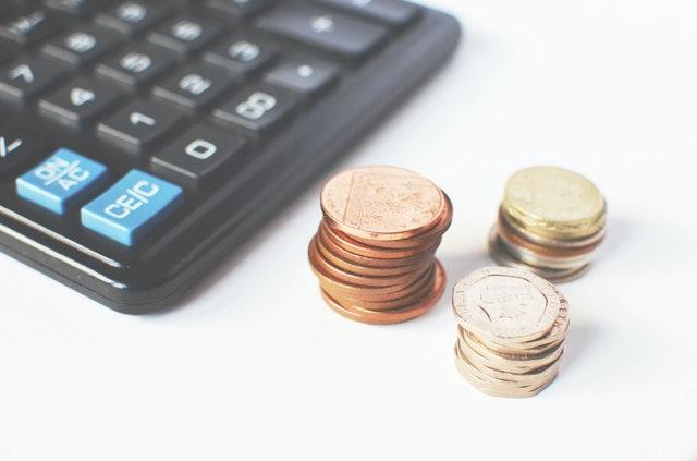 Kalkulačka s mincemi